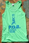 Neon Heather Green Tank